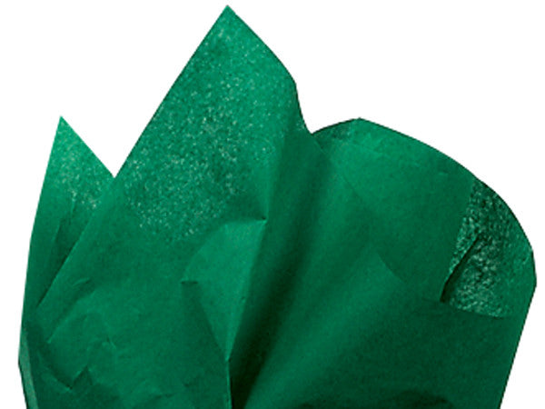 Solid Tissue Paper Holiday Green