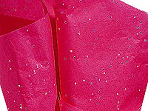 Hot Pink Gemstone Tissue Paper