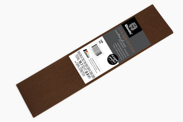 Lia Griffith Crepe Paper Folds Extra Fine - Single - Caffe