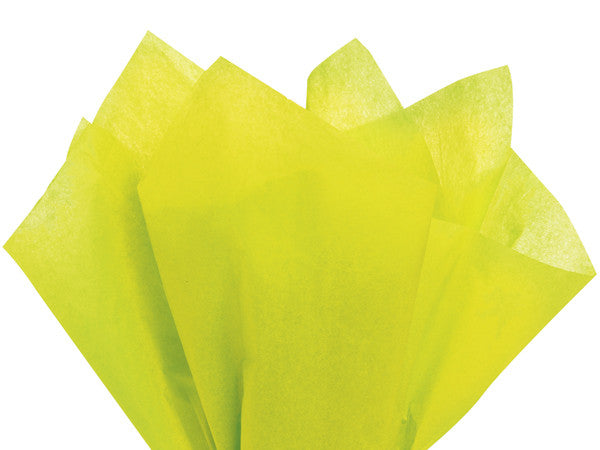 Solid Tissue Paper Leaf Green