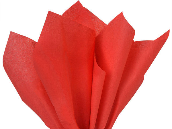 Light Scarlet Solid Tissue Paper 20X30