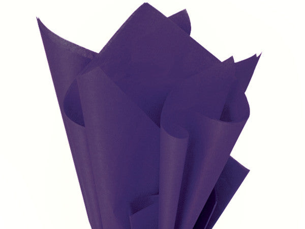 "Purple Solid Tissue 20"" X 30"""