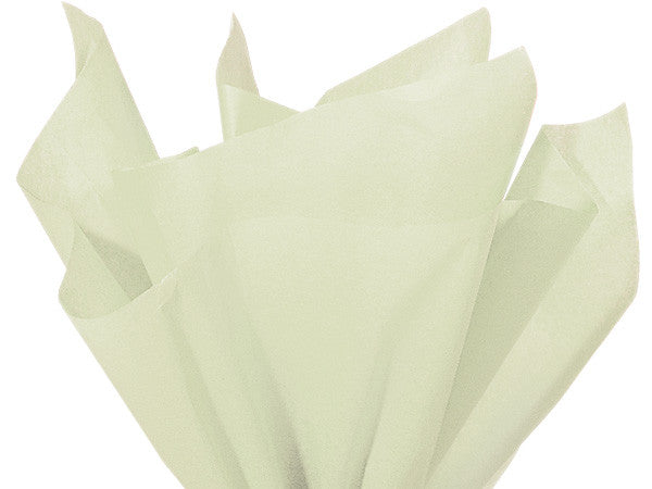 Pale Mint Solid Tissue  20X30