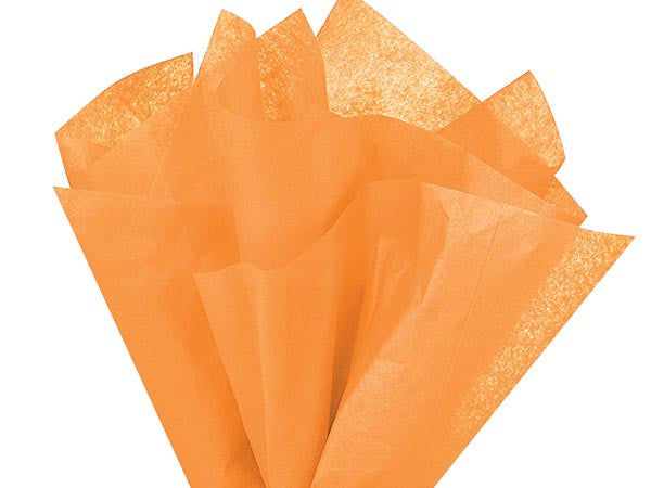 Peach Solid Tissue Paper 20X30