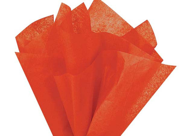 Poppy Solid tissue Paper 20X30