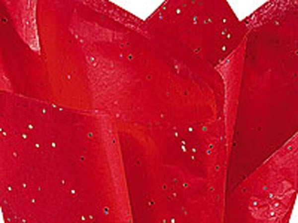 Ruby Red Gemstone Tissue Paper