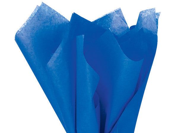 "Sapphire Blue Solid Tissue 20""X30"""