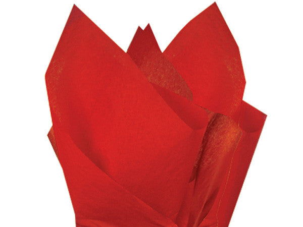 Solid Tissue Paper Scarlet Red