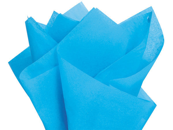 Solid Tissue Paper Turquoise