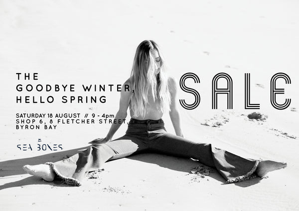 The Goodbye Winter, Hello Spring SALE
