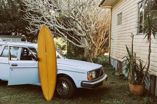 Ways Away Surfboards x Sea Bones  Board Collab
