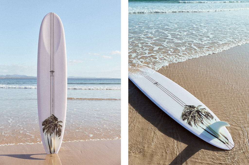 Ming Nomchong x McTavish Surfboards - Artist Collaboration exclusive to Sea Bones Byron Bay