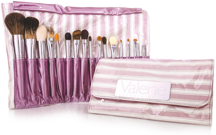 17-piece Luxurious Brush Case