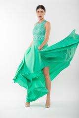 ELIZABETH Maxi Skirt -Mint