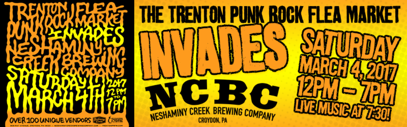 Punk Rock Flea Market at Neshaminy Creek Brewing Co.
