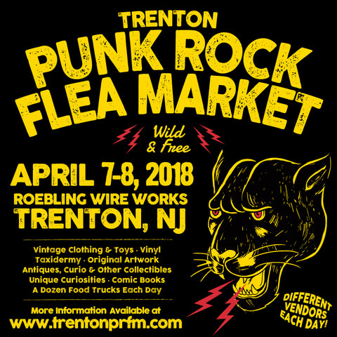 trenton punk rock flea market saturday april 7 2018 spring edition vendor