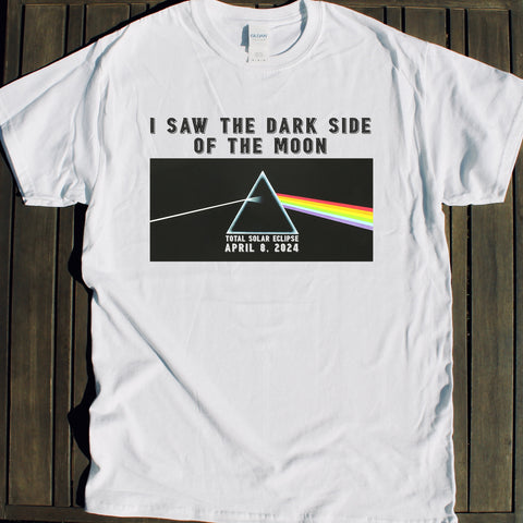 2024 Dark Side of the Moon Total Solar Eclipse Shirt