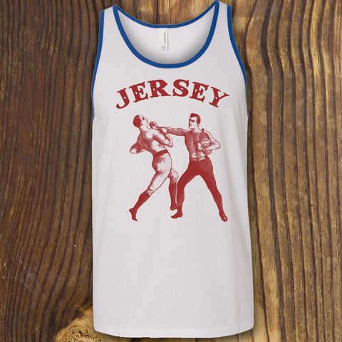funny new jersey tank top pork roll design with boxers nj