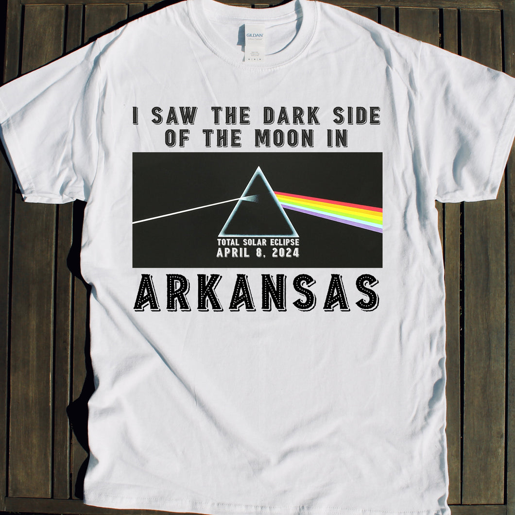 2024 Solar Eclipse shirt sale Arkansas event souvenir tshirt for sale