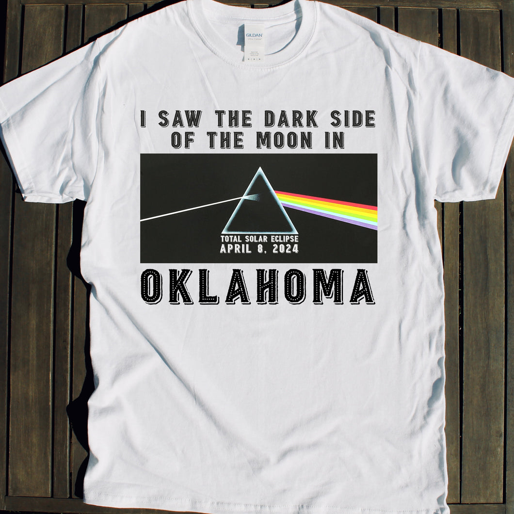 2024 Total Solar Eclipse shirt for Oklahoma event on April 8 for viewing party souvenirs