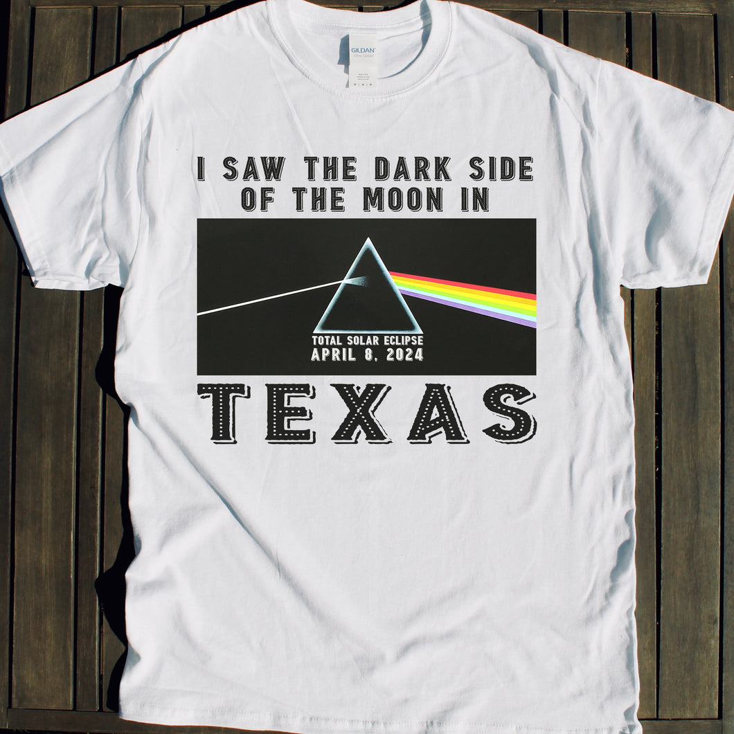 Texas Total Solar Eclipse shirt for sale April 8 2024 viewing party event souvenir tshirt for sale