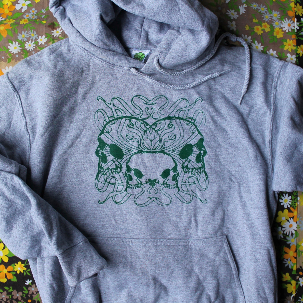 Deco Skull hooded sweatshirt