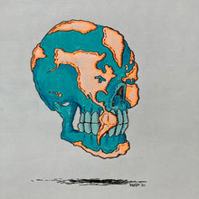 Skull Earth art by Ryan Wade available at Radcakes.com in Manasquan NJ