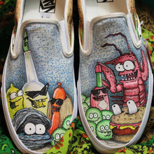 Your Favorite Food custom Vans Slip On Sneakers