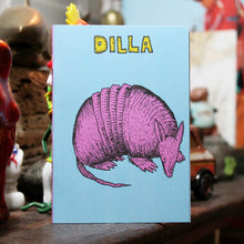 "#2: ""DILLA"" mini art zine booklet"