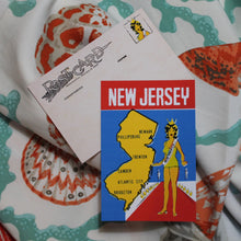 Retro New Jersey postcard