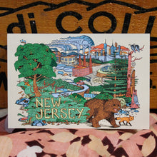 Greetings from New Jersey, the Garden State postcard