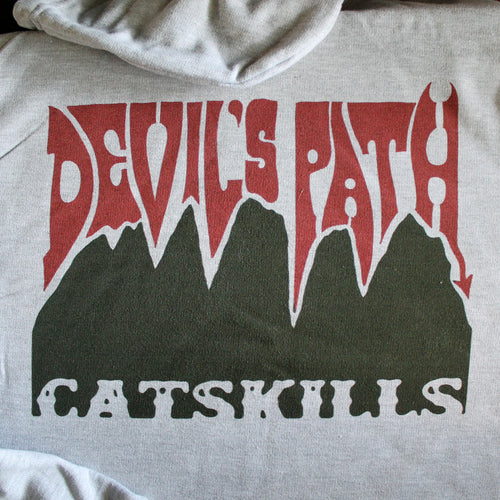 Devil's Path Trail hoodie - RadCakes Shirt Printing