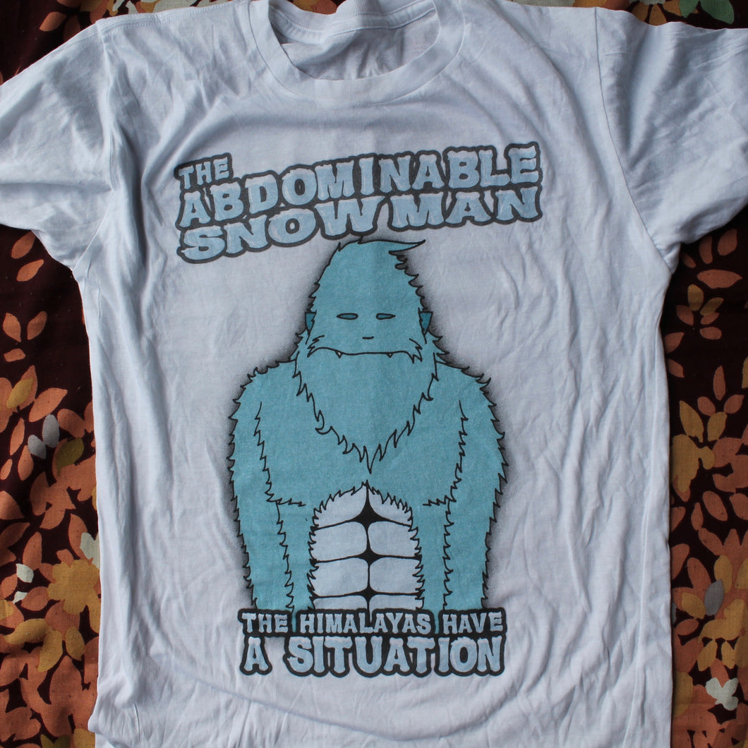 The Abdominable Snowman shirt (SMALL)