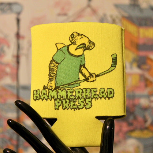 Hammerhead Press koozie