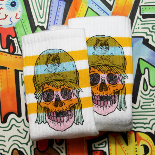 Skull Tube Socks