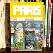 Paris Street Art book France graffiti photos pictures art book for sale