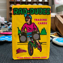 Rad Dudes trading cards (1990, Pacific Trading)