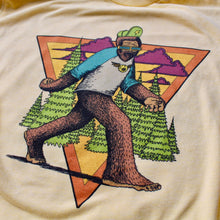 Big Foot tshirt design for sale Psychedelic trippy Sasquatch shirt art hiking hipster
