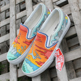 New Jersey bodyboarding jenks Custom designed Vans Classic Slip on shoes