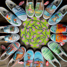 Custom designed Vans Slip On Sneakers - RadCakes Shirt Printing