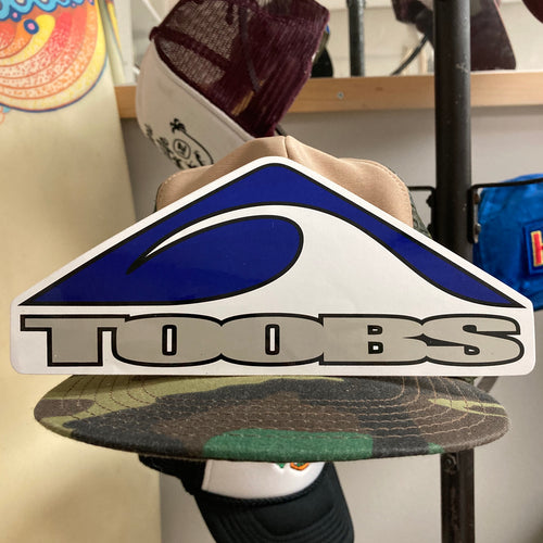 Toobs bodyboard sticker for sale California surf company boards