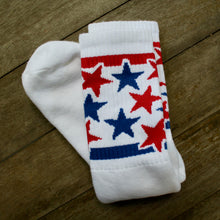 Retro style tube socks Made in America USA MErica Murica