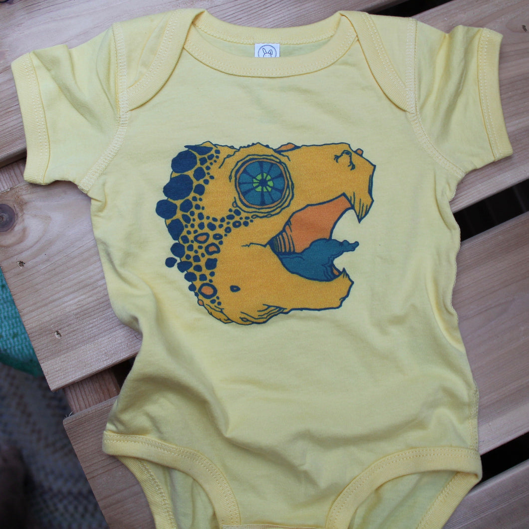 Alligator Snapping Turtle Onesie
