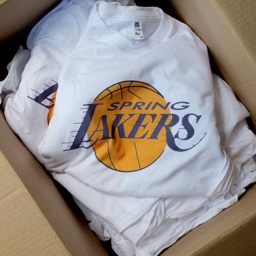 Spring Lakers shirt