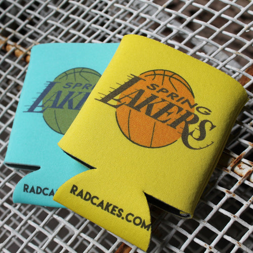 Spring Laker koozies for sale at Radcakes Parker House Sea Girt NJ Gods Basement