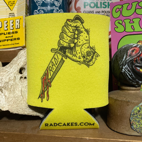 Space Bat Killer koozie design art for sale Beer holder
