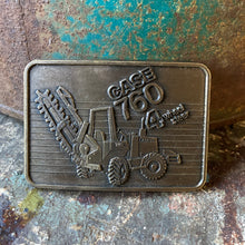 1985 Case 760 4 Wheel Steer Trencher  belt buckle