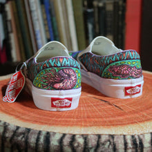 Octopus / Cephalopod custom Vans Slip On Sneakers - RadCakes Shirt Printing