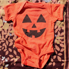 Jack O'Lantern Onesie Baby Halloween costume sale body suits for infants