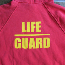 Retro Newquay UK Lifeguard hooded sweatshirt